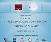 Save the Date: 6th Annual Turkic American Convention & Business Summit