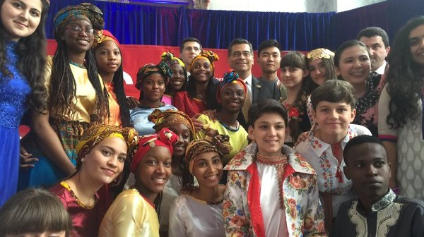 U.S. Members of Congress Welcome Students to IFLC 2016